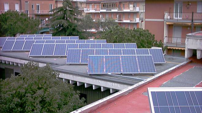 Borghetto fotovoltaico