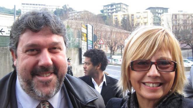 Carla Mattea e Angelo Vaccarezza
