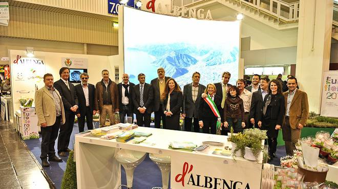 Comune Albenga alla fiera Essen Germania