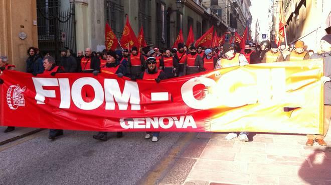 corteo sciopero generale