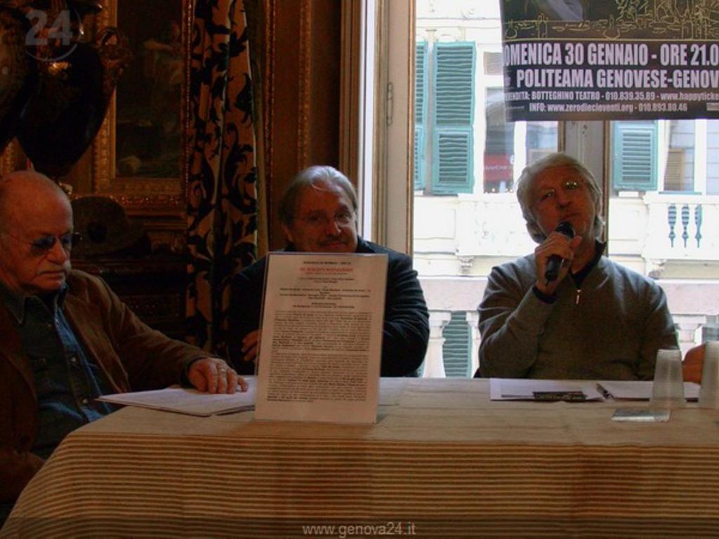 De Scalzi e Gino Paoli