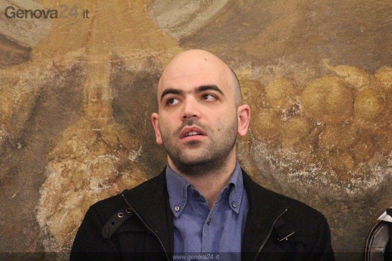 Genova - Laurea Honoris Causa a Roberto Saviano