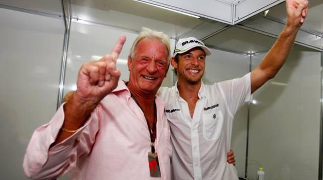 Jenson Button padre