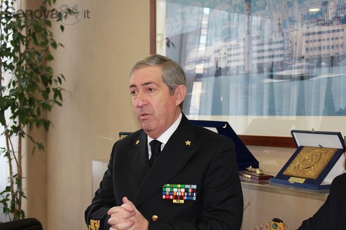 Marco Brusco, comandante generale capitanerie di porto