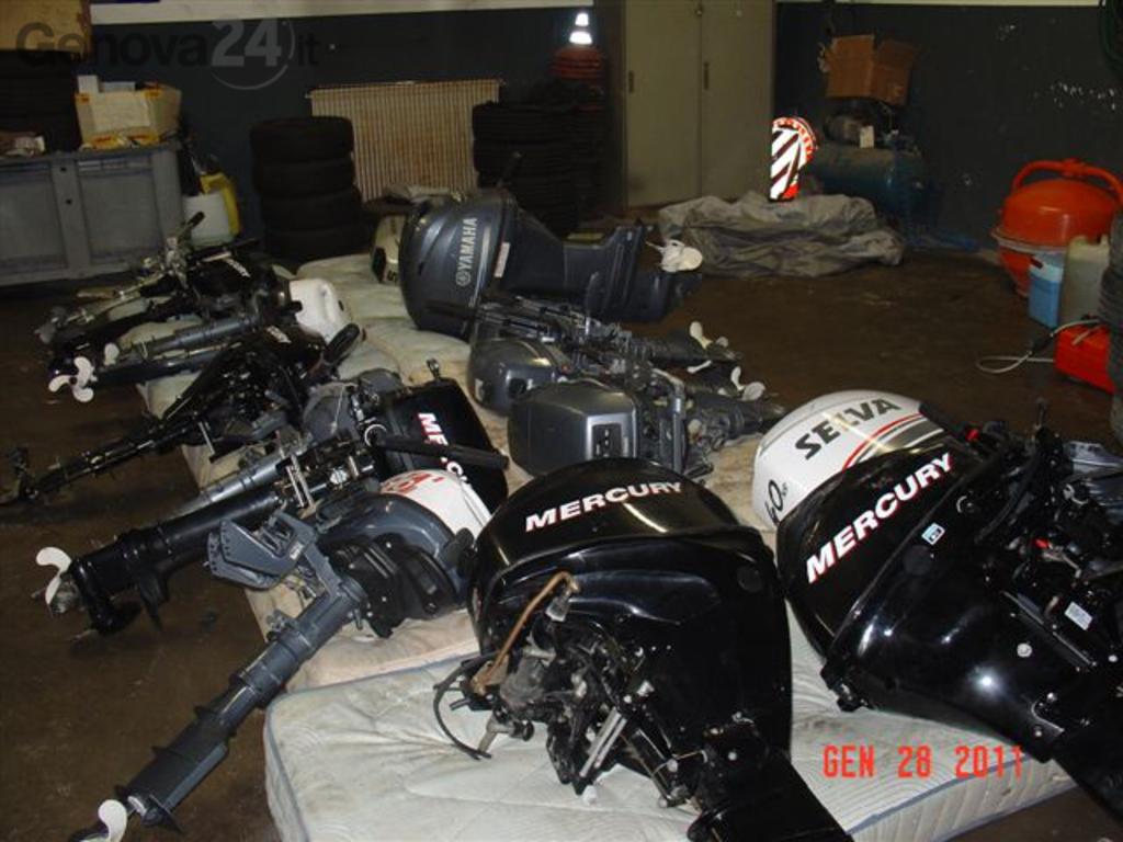 motori rubati