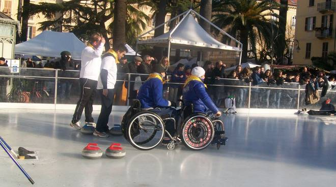 Nazionale paralimpica curling ad Albenga