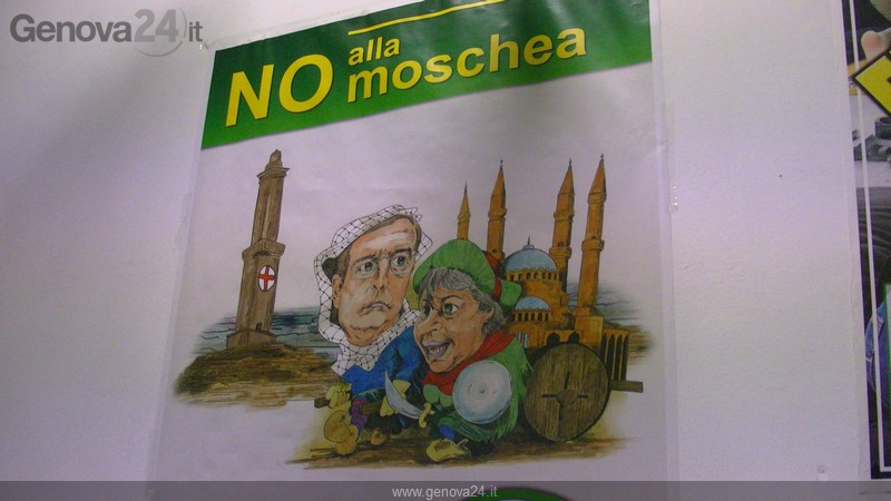 No alla moschea