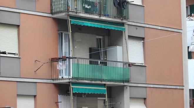 Omicidio Genova via Piacenza - zona sotto assedio