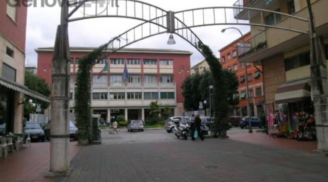 piazza del comune recco