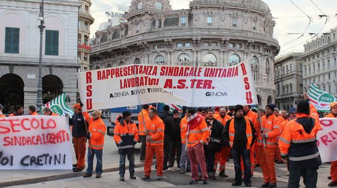 protesta aster