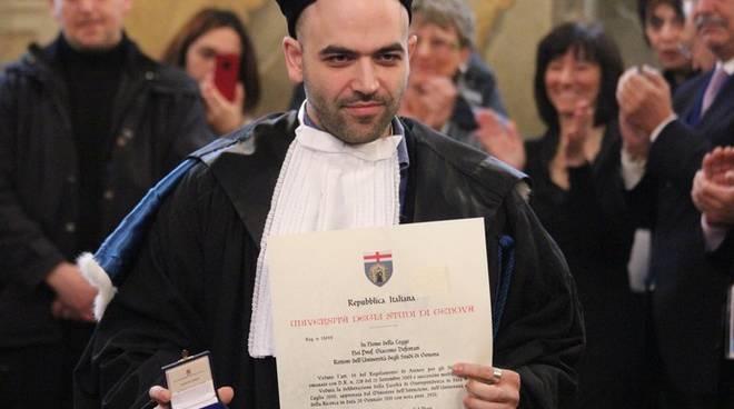 Roberto Saviano a Genova