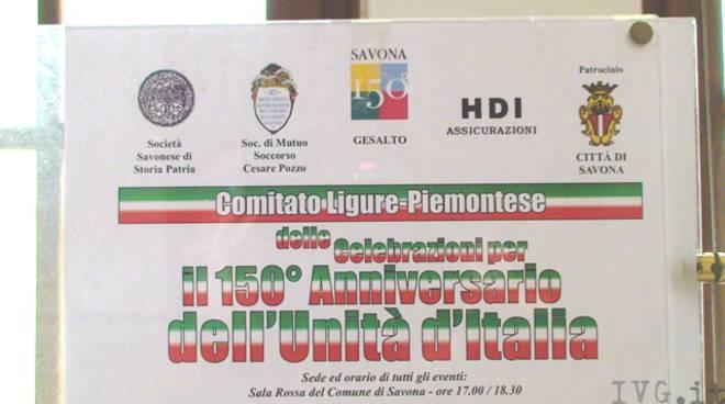 Savona celebrazioni Unità d'Italia