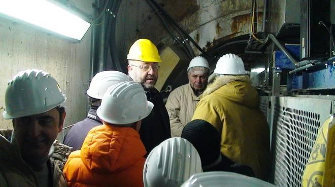 Savona - visita tunnel funivie carbone