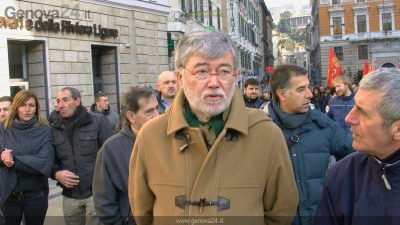 Sciopero Fiom Generale Genova