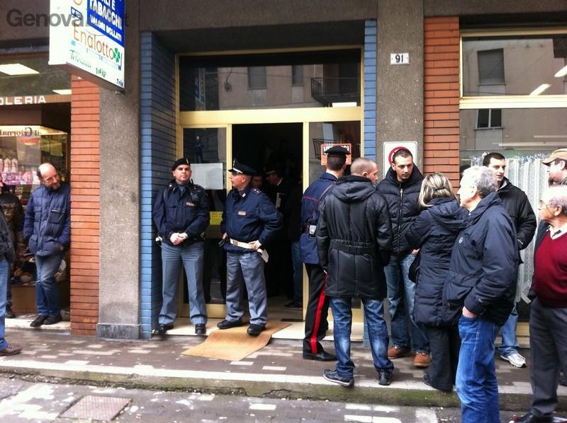 Sparatoria via Piacenza