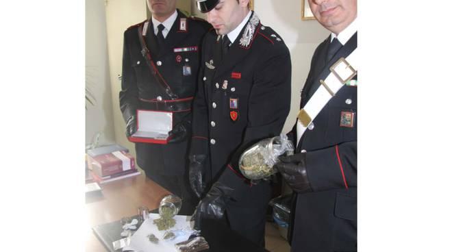cc, sequestro droga Alassio