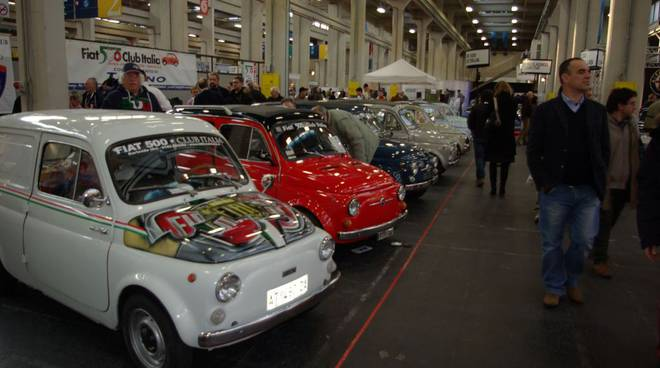 Fiat 500 all'Automotoretrò di Torino