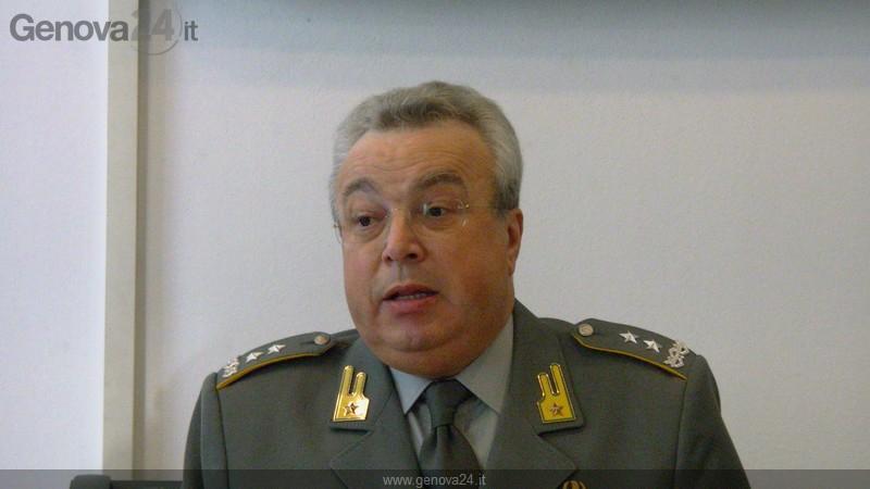 generale Flavio Zanini, comandante regionale finanza