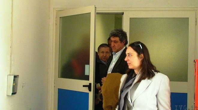 Jean Todt - visita Robert Kubica in ospedale