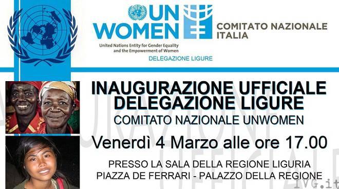 locandina inaugurazione Unwomen