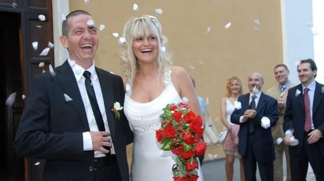 Matrimonio Luca Gaggero, vicesindaco Bergeggi