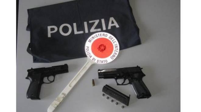 pistole clandestine sequestrate