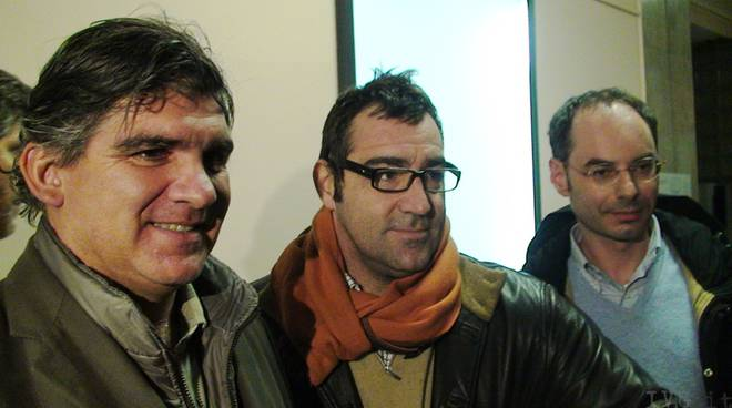 Professor Igor Rossello e staff