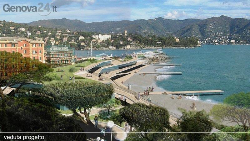 progetto porto di Santa Margherita