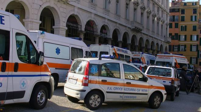 protesta pubbliche assistenze onlus