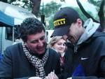Robert kubica Rallye di Andora autografi