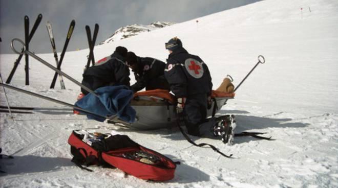 soccorso sci neve