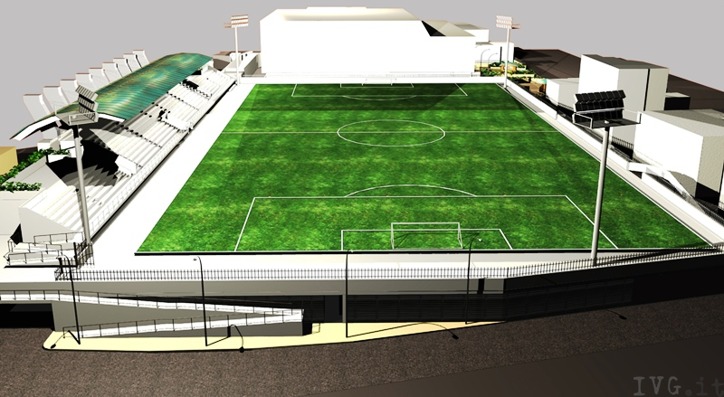 Stadio Ferrando Alassio - simulazione