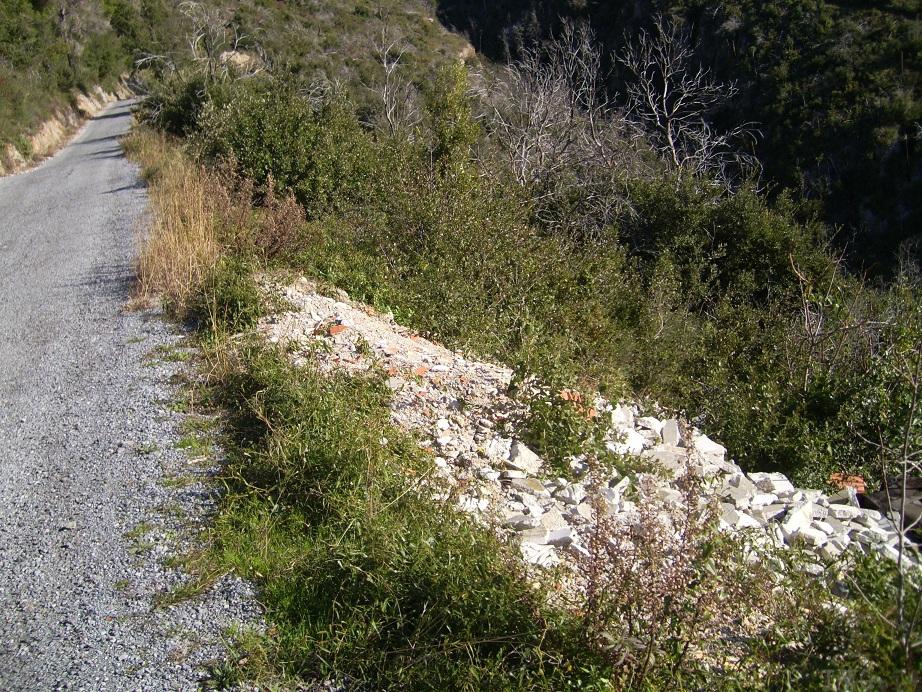 strada panoramica Varigotti-Manie