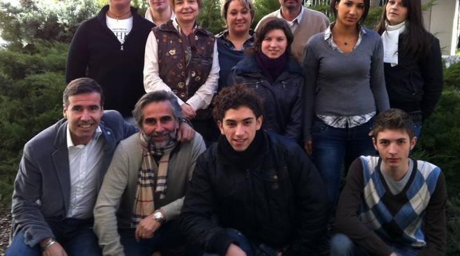 studenti al forum dei mestieri di Lione