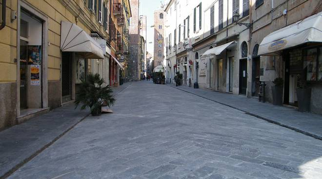 Albenga Via Enrico D'Aste