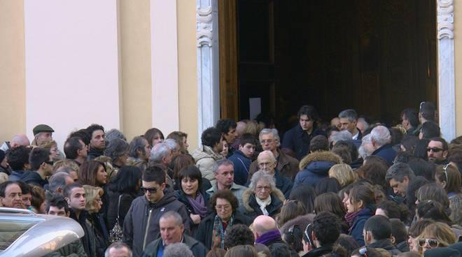 Arenzano - funerali Francesco Damonte