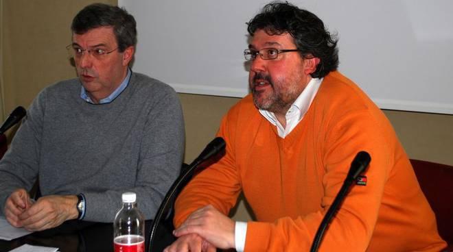 Claudio Burlando e Angelo Vaccarezza