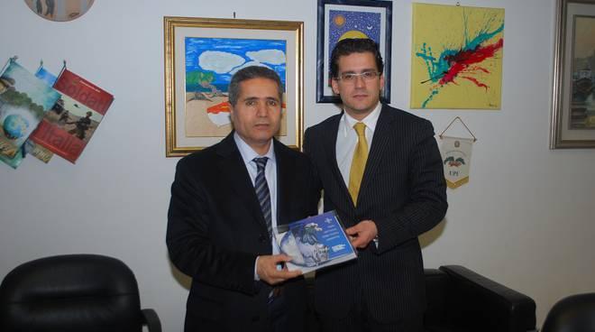 Console di Tunisia e vice presidente Luigi Bussalai