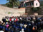 inaugurazione piazza trincheri a Cisano