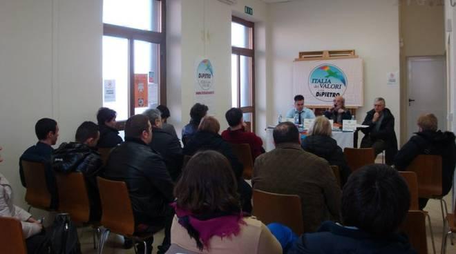 Italia dei Valori: incontro acqua pubblica