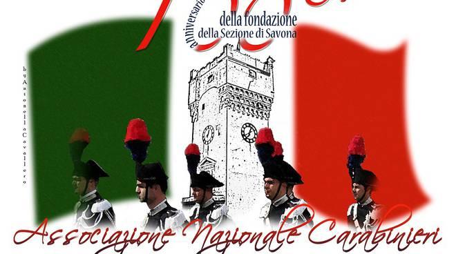 logo centenario associazione carabinieri savona