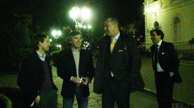 Luca Villani, Roberto Avogadro, MArco Melgrati, Angelo Galtieri