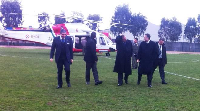 Matteoli visita Bombardier