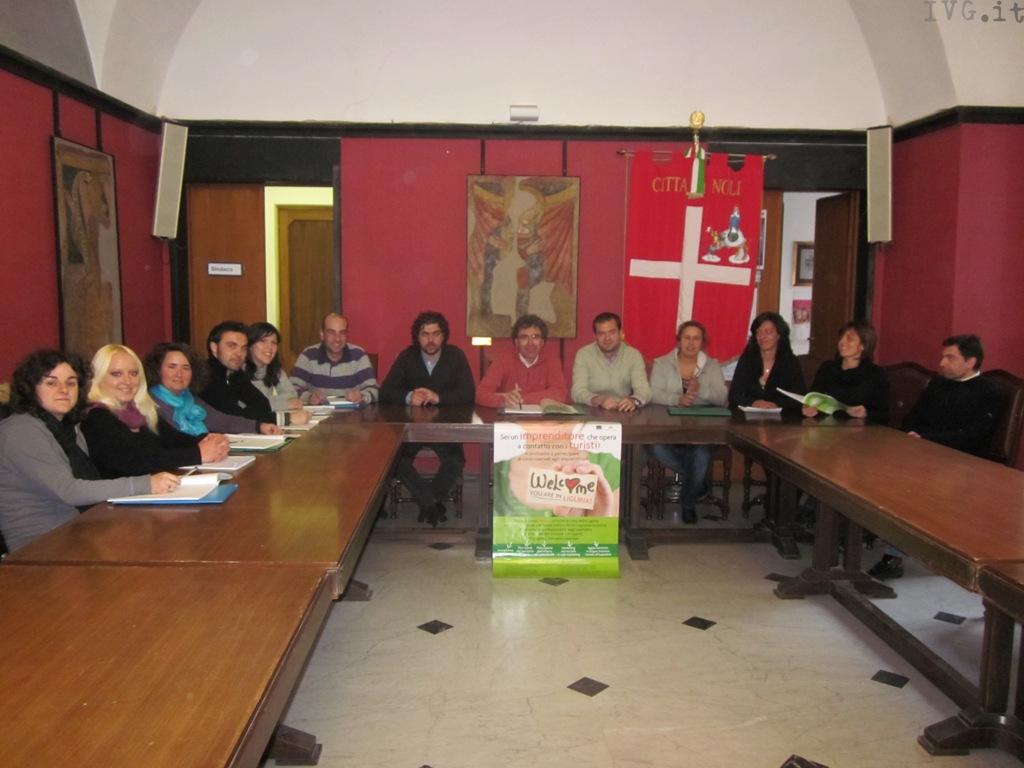 Noli, studenti dal sindaco Repetto