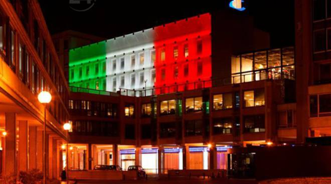 Palazzo Costa Crociere - tricolore