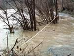 Piena fiume Bormida Murialdo