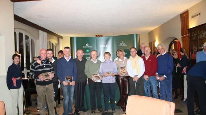 Premiazione Golf Garlenda