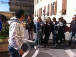 Protesta chiusuta ospedale Recco