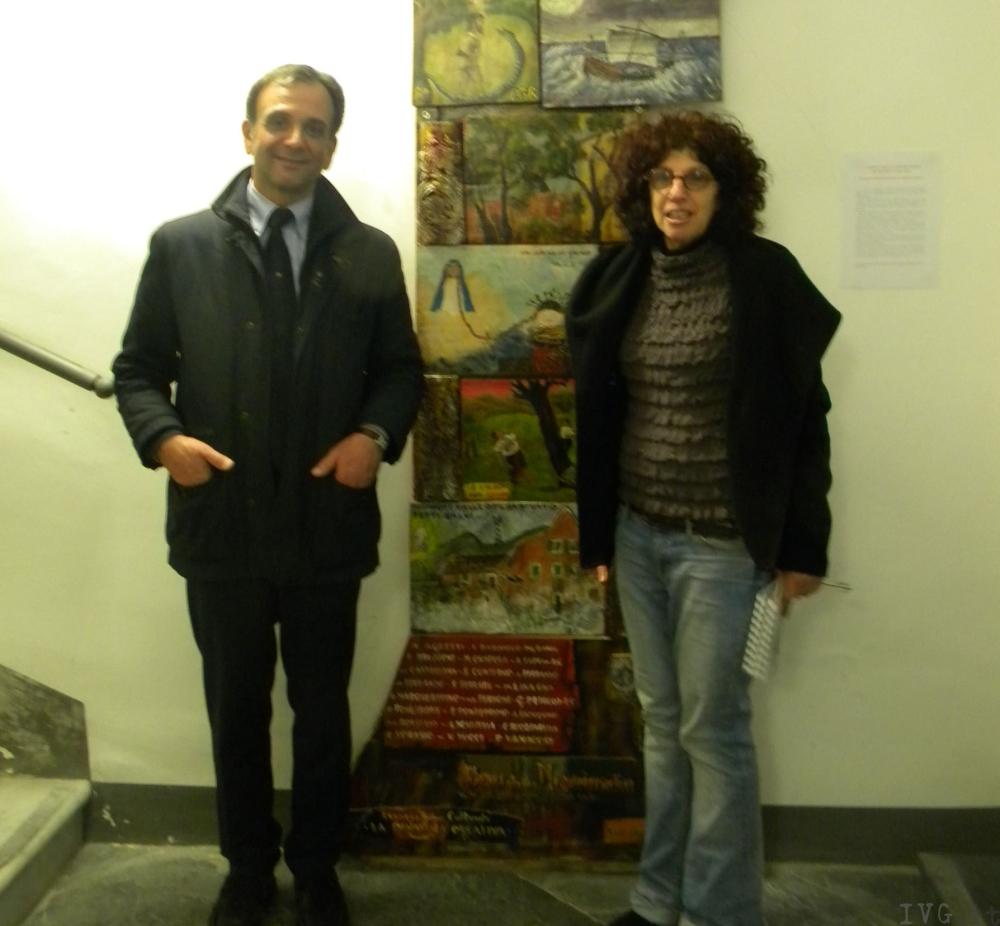 Santuario di Savona: ex voto nel Palazzo dell'Ospizio