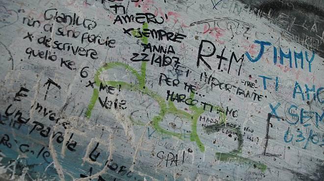 scritte muri